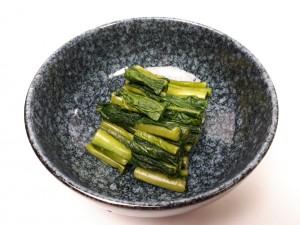 酒肴(野沢菜漬け)①