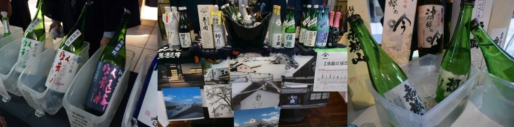 今季最初の蔵出しを味比べできました。日本酒ファンにはたまりません!!