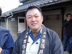 原田酒造・原田社長