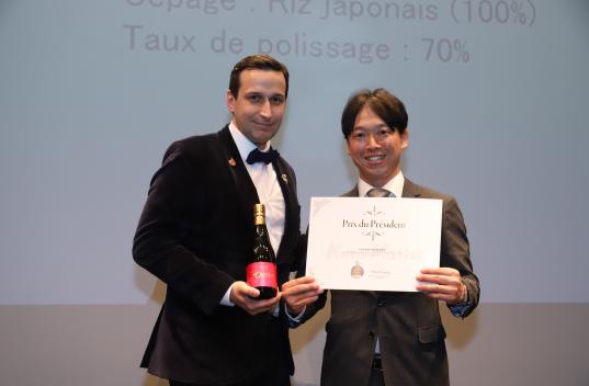 仏 5 つ星ホテルのソムリエらが選ぶ日本酒コンクール kura master