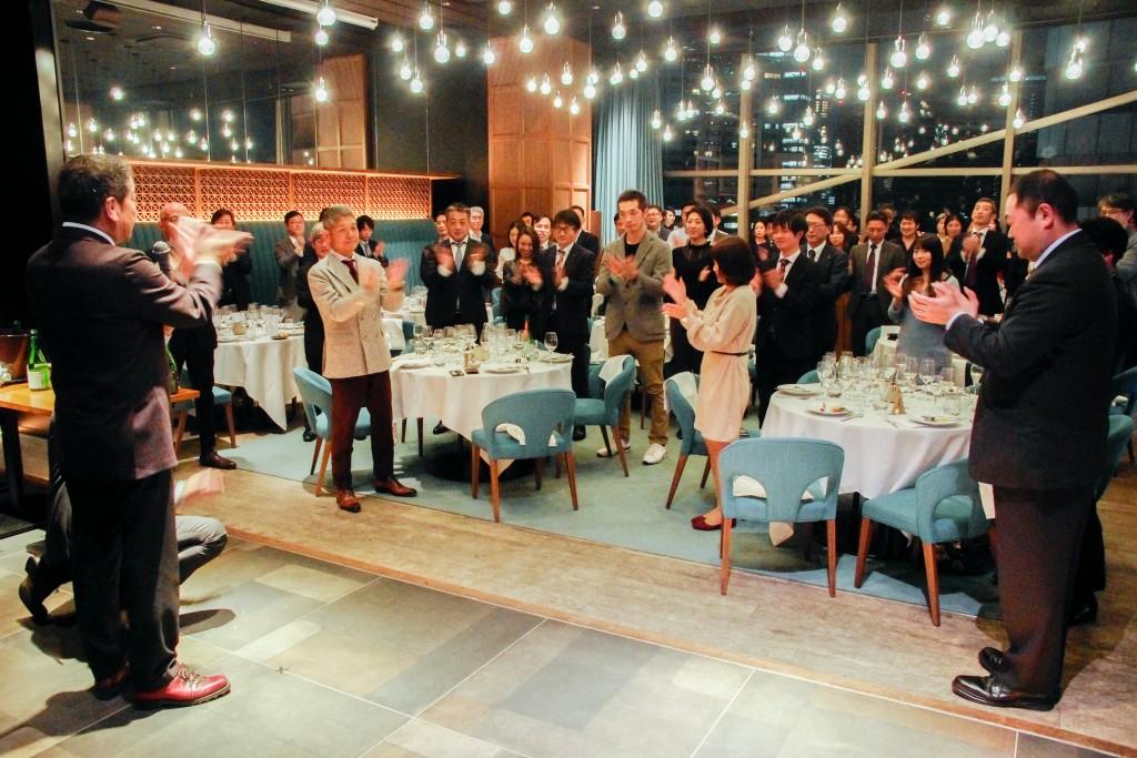 12月13日に開催された、一般の方向けのお披露目食事会の様子
