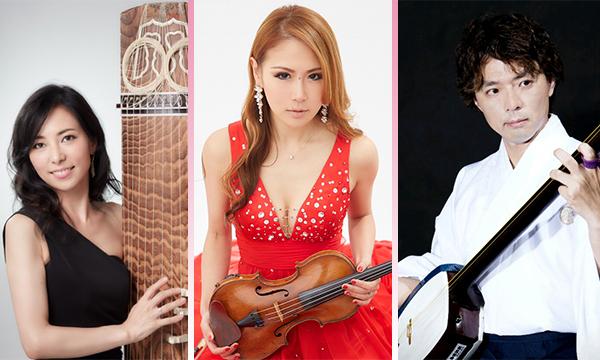 (左側)吉永真奈 (中央)Song (右側)雅勝